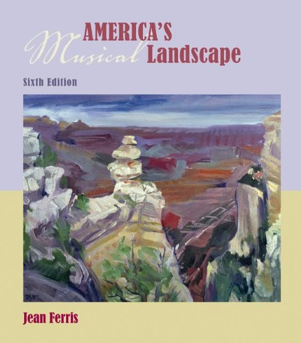 America's Musical Landscape (Book & CDs)