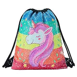 Hihey Bolsa de Deporte Unicorn - Impresa con Coloridos ...