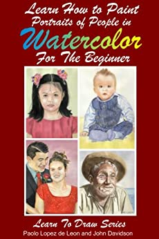 Portraits People Watercolor Absolute Beginners ebook product image