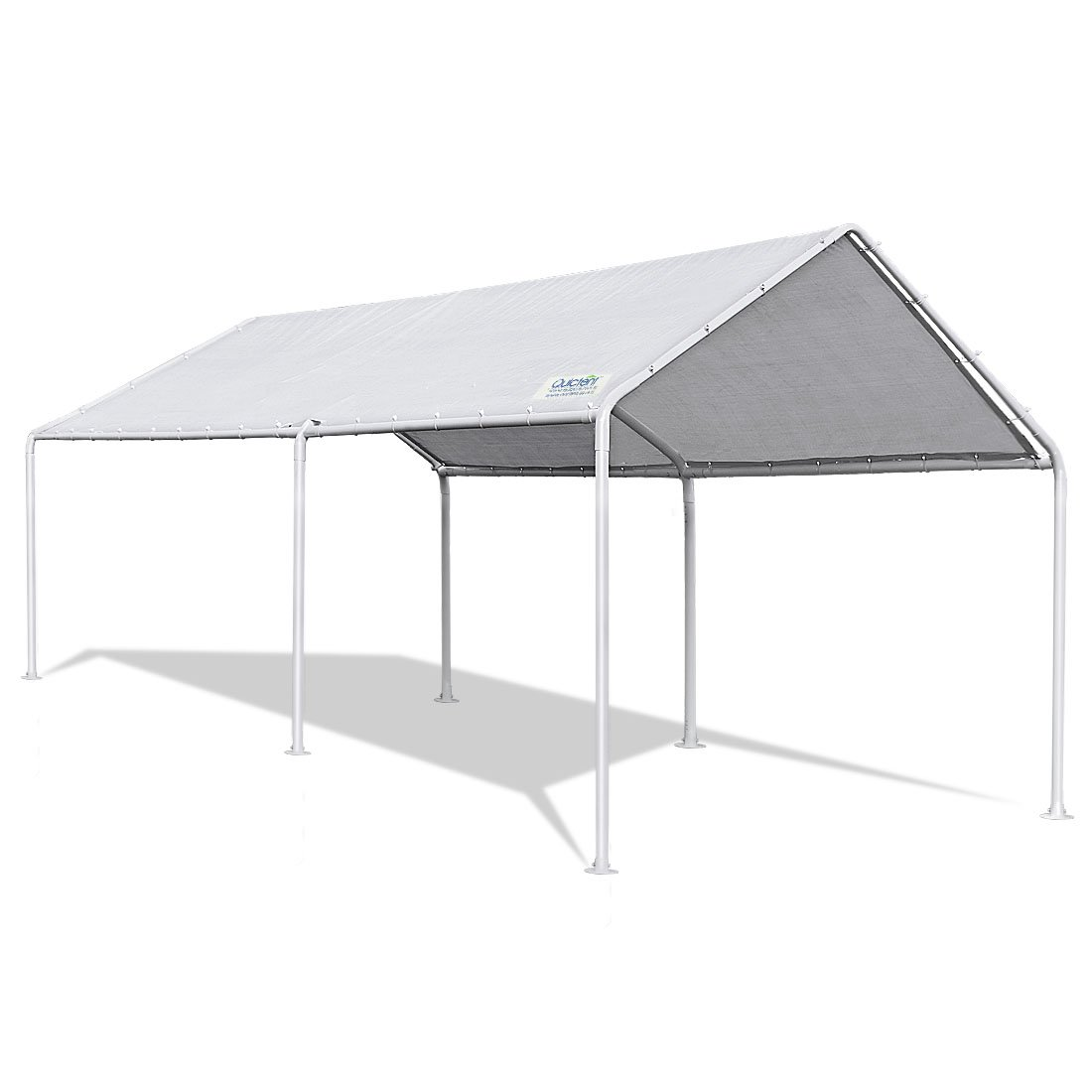 Quictent 20'X10' Upgraded Heavy Duty Carport Car Canopy Party Tent (10x20)