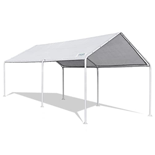 Quictent 10'x20' Heavy Duty Carport Car Canopy