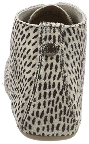 Gimlet Stripes Off Beige Leather Black White Donna Stivali Hairon Maruti Paint dxnw8BS0dq