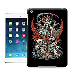 Tostore Every New Day Santemuerte Smaller Skull Head Arts Map Case Battery Cover for Ipad Mini