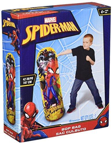 Hedstrom Spider-Man Bop Inflatable Punching Bag, 42