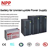 NPP 12V 7ah 12Volt 7amp Rechargeable Sealed Lead Acid Battery APC Backups ES 500VA CyberPower 550VA Power car Verizon Fios F2 Terminal