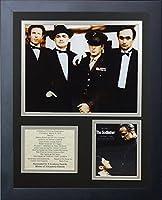 11x14 FRAMED 1972 THE GODFATHER CAST LIST MARLON BRADO AL PACINO 8X10 PHOTO