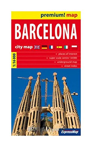 Download Barcelona 1:16 000. City map ebook