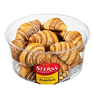 Cinnamon Rolls | Cinnamon Buns | Breakfast Pastry | Rugelach Pastries Cinnamon Croissants | Preservative Free & No Coloring Added | Dairy & Nut Free | 12 oz Stern's Bakery