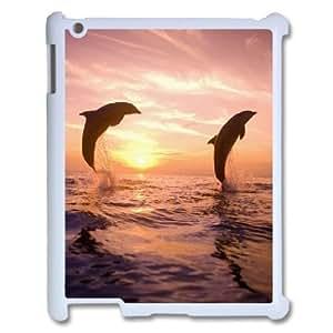 kimcase Custom Dolphin Case for iPad2,3,4