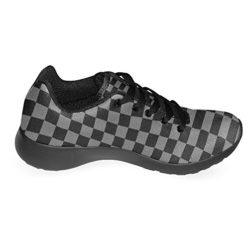 Mocassini Donna Interestprint Classico Casual Canvas Slip On Fashion Scarpe Sneakers Mary Jane Flat Multi 18