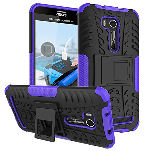 Slim Armor Hard Case for Asus Zenfone Go 5.5 ZB551KL (Black) - 3