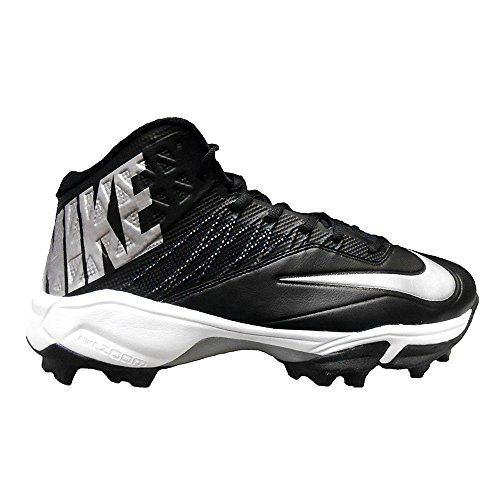 Zoom Shark Code Football NIKE Black Metallic Cleats W Elite Pro Silver Swq66npBd