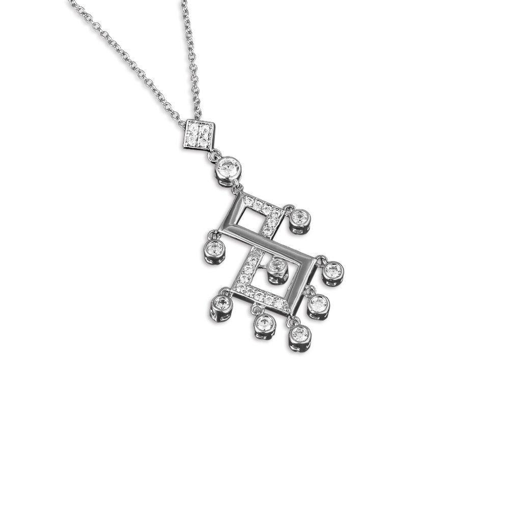 """Audbrave Damen Halskette mit Anhänger """"Magic"""", Geschenk zum Geburtstag, für Damen und Mädchen LZQ0904N985"""