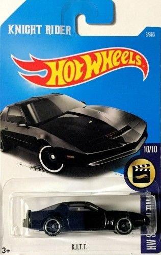Hot Wheels 2017 HW Screen Time Knight Rider K.I.T.T. (KITT) 3/365