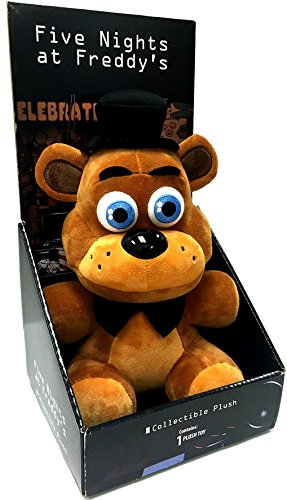 "Officially Licensed Five Nights At Freddys 10"" Boxed Freddy Fazbear Plush Toy ..."