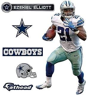 Amazon.com: NFL Dallas Cowboys Ezekiel Elliott Fathead Teammate ...