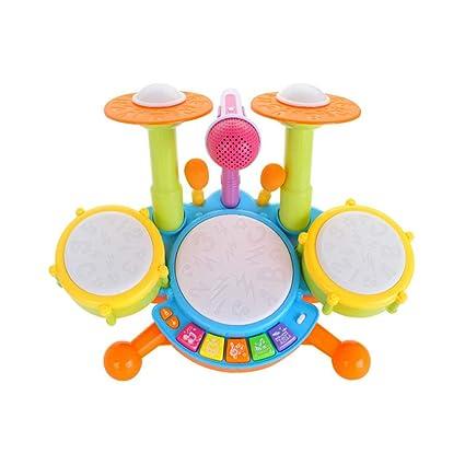 Amazon.com: Juego de juguetes para niños con tambor ...