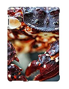 Case For Ipad 2/3/4 Tpu Phone Case Cover(crab) For Thanksgiving Day's Gift