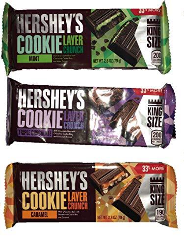 (Hersheys Cookie -Mint -Triple Chocolate -Caramel (Pack of 3))