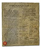 Articles of Confederation of the United States, 1778. 14 x 16 Replica on Genuine Antiqued Parchment offers