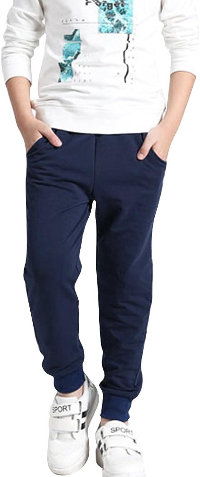 DianShao Pantalón Largo De Chándal para Niño Cintura Elástico Impreso Casual Pantalones: Amazon.es: Ropa y accesorios