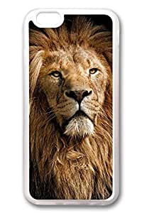 iPhone 6 Cases, Personalized Protective Case for New iPhone 6 Soft TPU Clear Edge Lion