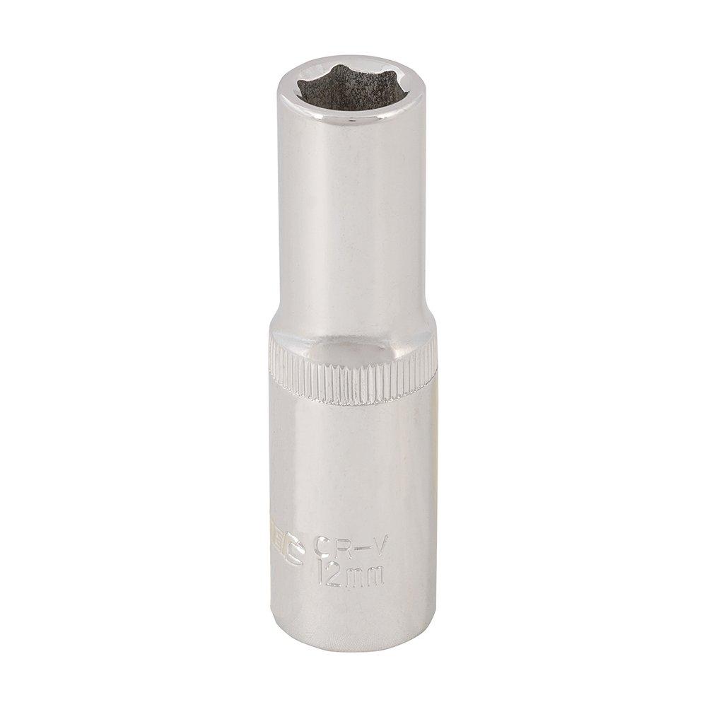 Silverline 306431 Douille m/étrique profonde 1//2 22 mm