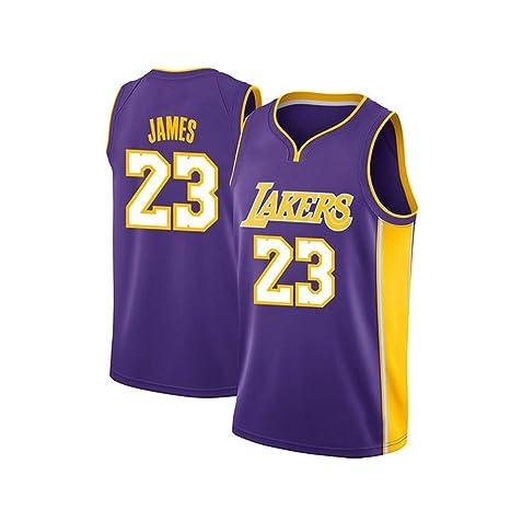 NUJO Baloncesto Jersey de la Camiseta de Los Angeles Lakers ...