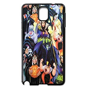 Quotes Personlised Phone Case Disney Villains Collage For Samsung Galaxy Note 3 N7200 NP4K02513