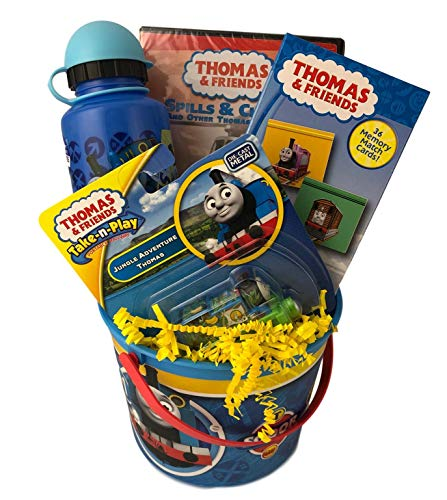 Thomas Friends Train Gift Basket with DVD and