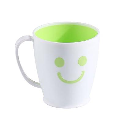 LBTSQ-Cepillo de Dientes Taza Dibujos Animados Creativo colutorio Cup Lovely Cepillo de Dientes Taza