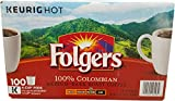 Folger's 100 Count 100 Percent Colombian Coffee, 0.31 Ounce