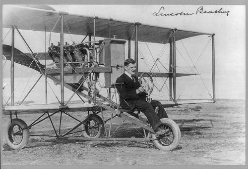 photo-lincoln-beachey1887-1915american-aviatorbarnstormerat-controls-of-airplane