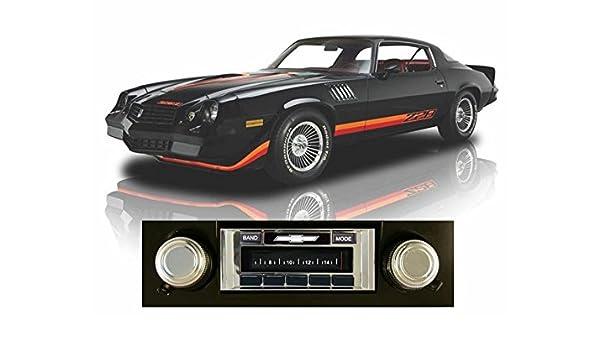 Dash Speaker  NO AC Cars 1969 Camaro Radio Play /& Charge iPod 630 II Stereo