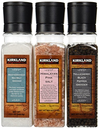 Kirkland SignatureTM Salt and Pepper Grinder Set - 3-pack