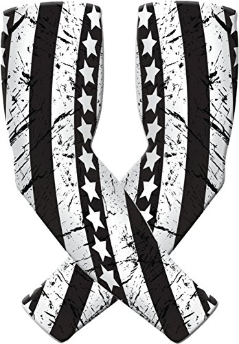 (Athletic Arm Sleeves for Men Women Youth. Sports Compression, UV Protection)