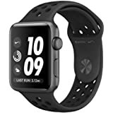 Apple Watch Nike+ (GPS) - Series 3 - 38MM Space Gray Aluminum Case Anthracite/Black Nike Sport Band