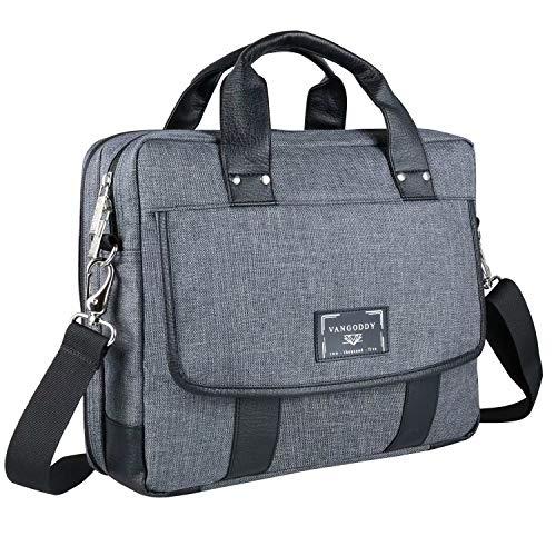 15.6 Inch Laptop Shoulder Messenger Notebook Bag for Dell G3 15, G5 15, G7 15, Inspiron 15, Latitude, Precision, Vostro 15, XPS 15, for Lenono IdeaPad, ThinkPad, V Series, Legion, Yoga, N Series