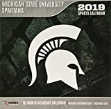 Michigan State Spartans 2019 Calendar