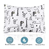 Kids Pillow with Pillowcase,Soft Organic Cotton Toddler Children's Pillows 13X18 for Girls Boys Sleeping,Washable and Hypoallergenic,Best Christmas Gift: more info