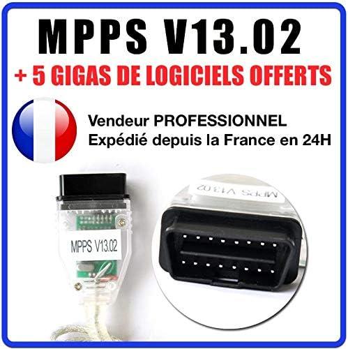 MISTER DIAGNOSTIC Valise Interface MPPS V13.02 OBD OBD2 Scanner Flash Tuning Logiciel MPPS V16