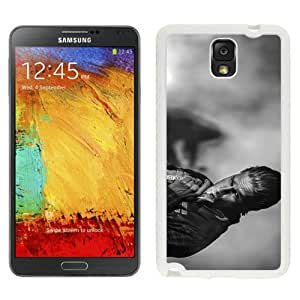 Beautiful Samsung Galaxy Note 3 Case ,Unique And Lovely Designed With Sons Of Anarchy Jax Teller Charlie Hunnam White Samsung Galaxy Note 3 Phone Case