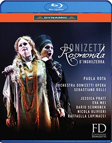 Gaetano Donizetti: Rosmonda d'Inghilterra [Blu-ray] -