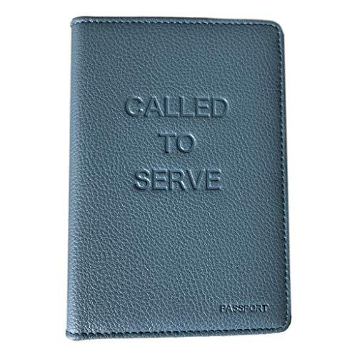 Called To Serve, Passport holder, Leather Passport travel wallet gift, humanitarian travel international volunteer, Elder Missionary Called to Serve
