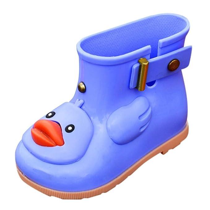 Scarpe da pioggia per bambini koly stivali impermeabili in gomma