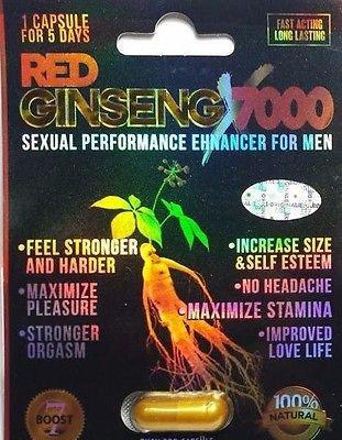 Red Ginseng 7000 Male Enhancement Pills (24)