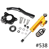 GZYF Fit for KAWASAKI Z1000 2010-2013 Steering Damper Stabilizer with Bracket Mounting Kit