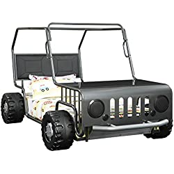 Coaster Casey Jeep Twin Bed in Gunmetal