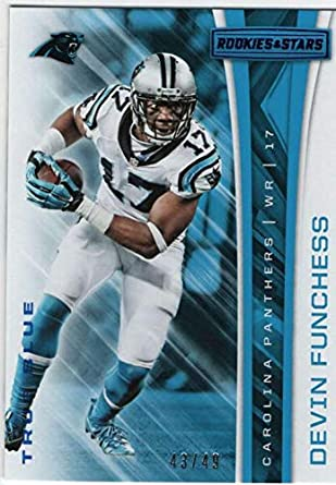 2017 Panini Rookies and Stars Football True Blue  78 Devin Funchess Panthers  SER 49 ca46ba1c3