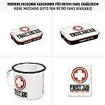Nostalgic-Art Boîte en Fer Blanc Plate Style rétro pour kit de Premiers Secours Imprimé First Aid 23 x 16 x 7 cm 10
